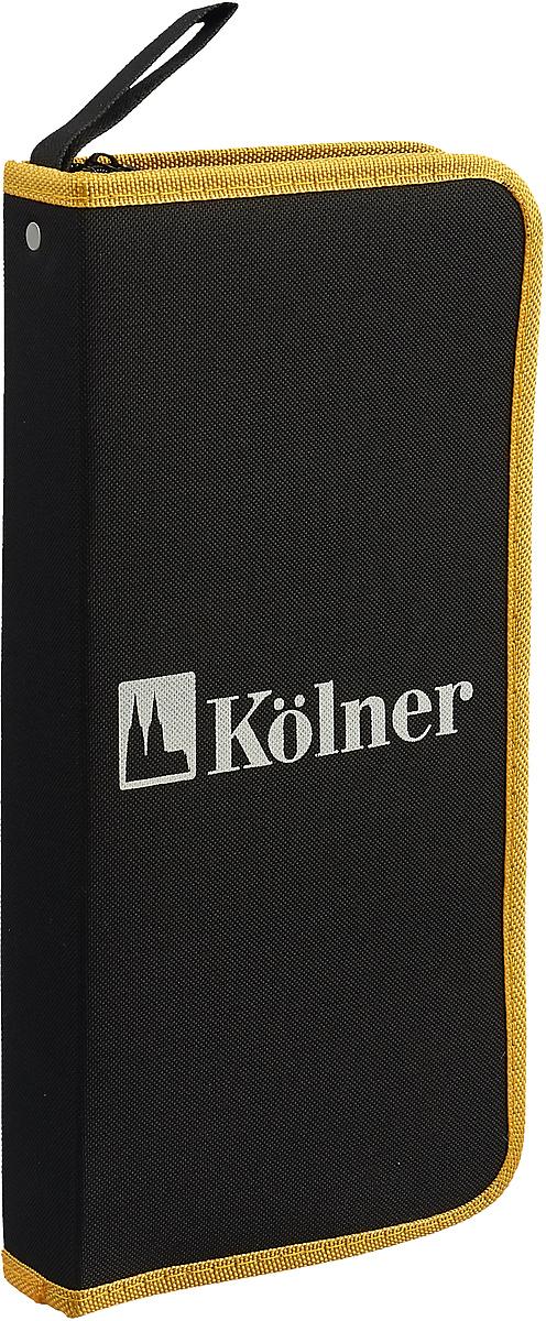 Набор ручного инструмента Kolner KTS 36 B, в сумке, 36 предметов ключ разводной kolner kaw 10
