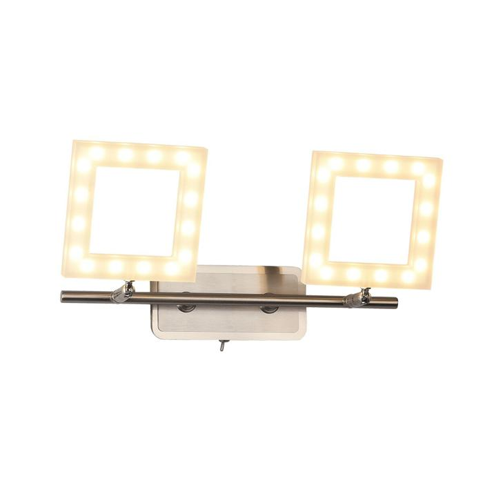 Бра Idlamp 106/3A-LEDWhitechrome, бежевый бра idlamp pina арт 345 3a chrome