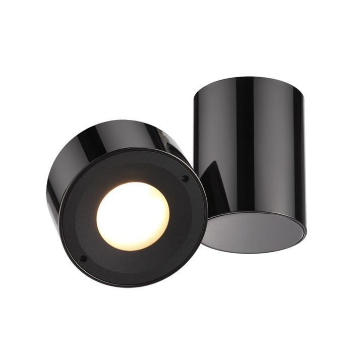 Настенно-потолочный светильник Odeon Light 3587/1C, черный цена