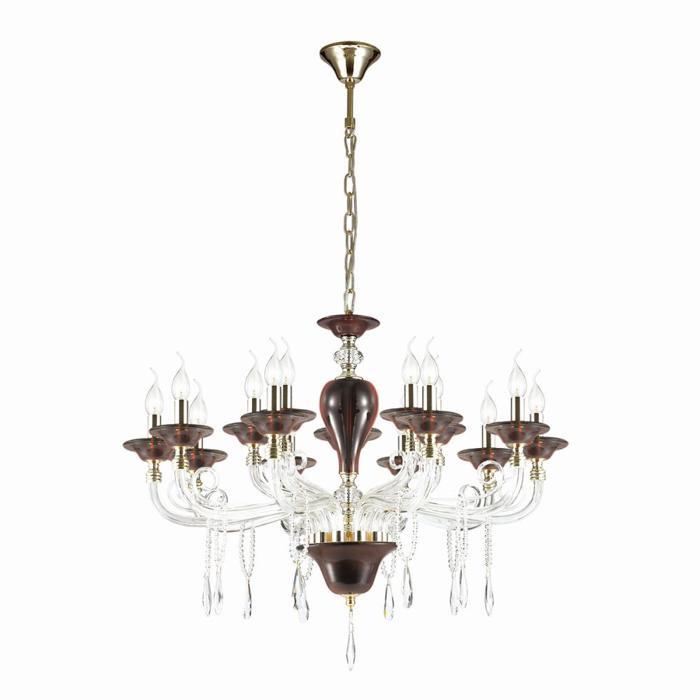 Подвесной светильник Odeon Light 3928/15, коричневый