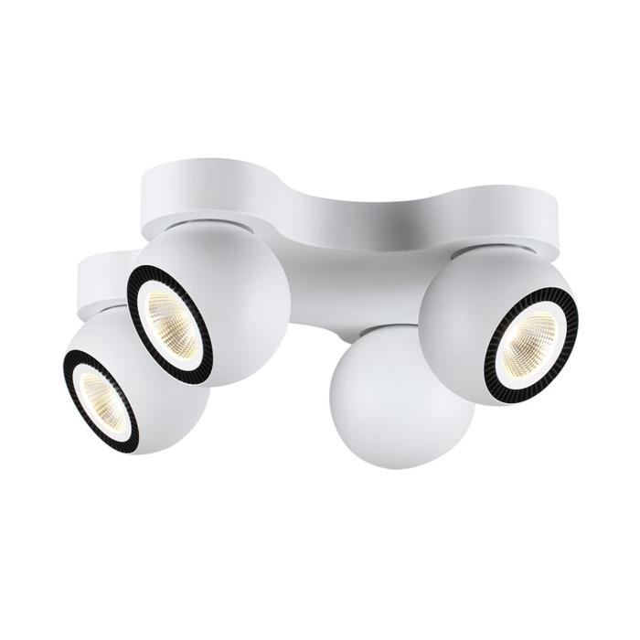 Настенно-потолочный светильник Odeon Light 3536/4CL, белый 10 шт xir2030a 4cl