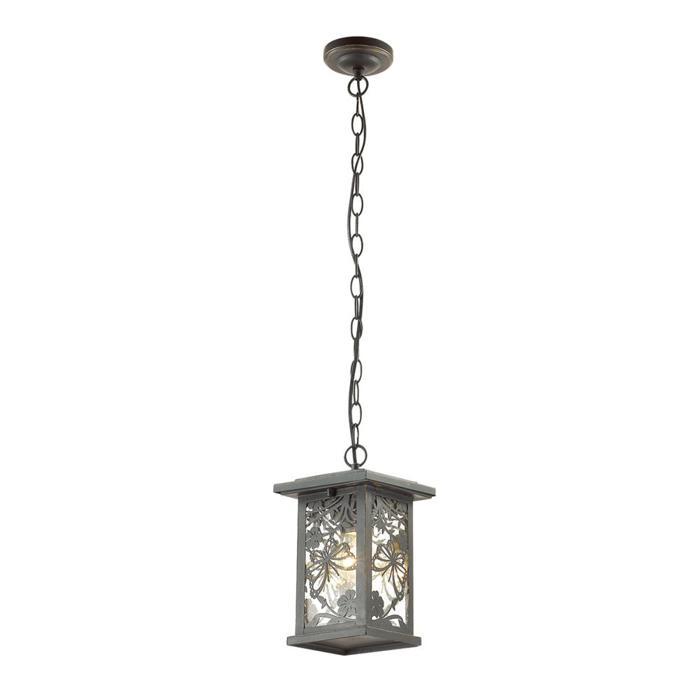 Уличный светильник Odeon Light 4038/1, золотой уличный подвесной светильник odeon 4044 1