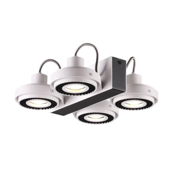Потолочный светильник Odeon Light 3490/4C, черный odeon потолочная люстра odeon light crea 2597 4c