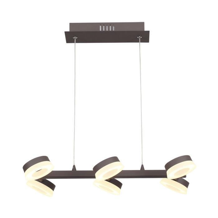 Подвесной светильник Odeon Light 3537/6L, коричневый подвесная светодиодная люстра odeon 3537 6l