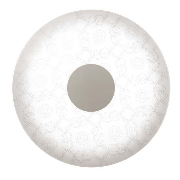 Настенно-потолочный светильник Sonex 2030/D, белый