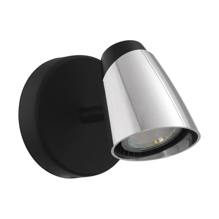 Настенно-потолочный светильник Eglo 96715, серый металлик светильник спот eglo dakar 87082