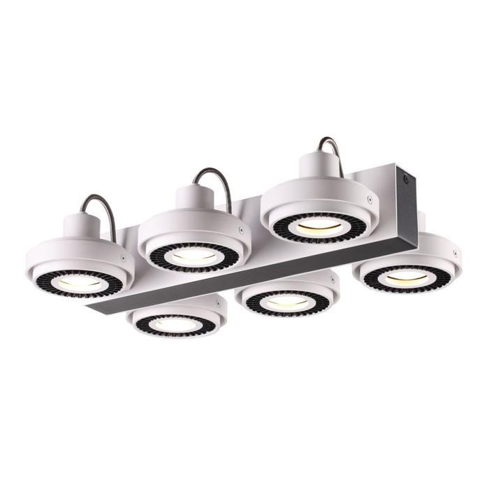 все цены на Потолочный светильник Odeon Light 3490/6C, черный онлайн