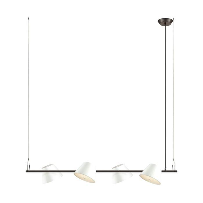 Подвесной светильник Odeon Light 3991/4A, белый подвесной светильник colosseo tito 70117 4a
