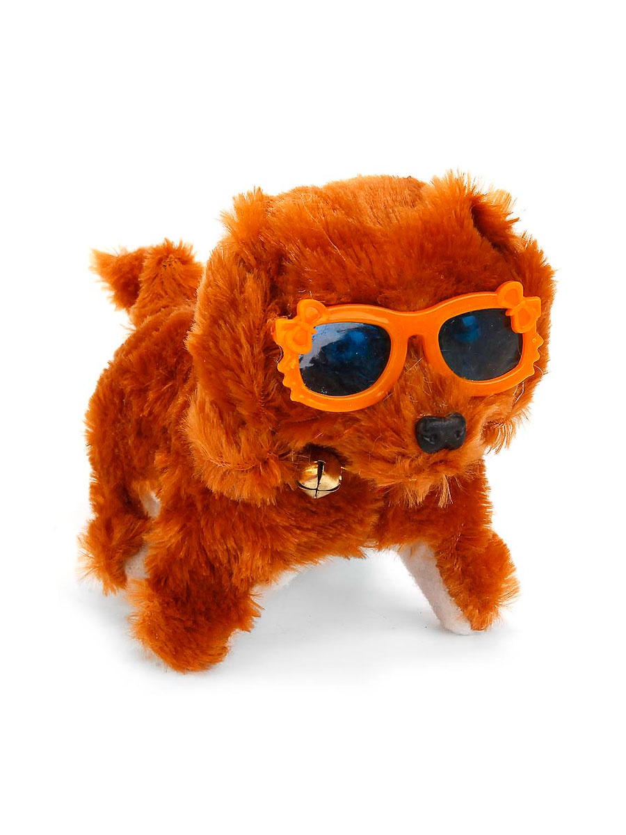 Интерактивная игрушка Fidget Go Собачка Дружок коричневый тендерайзер fidget go цвет белый