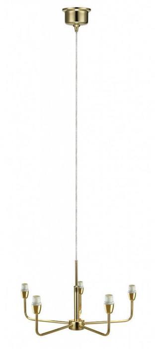Подвесной светильник Markslojd 105261+105268, золотой markslojd плафон к люстре markslojd andria 105270