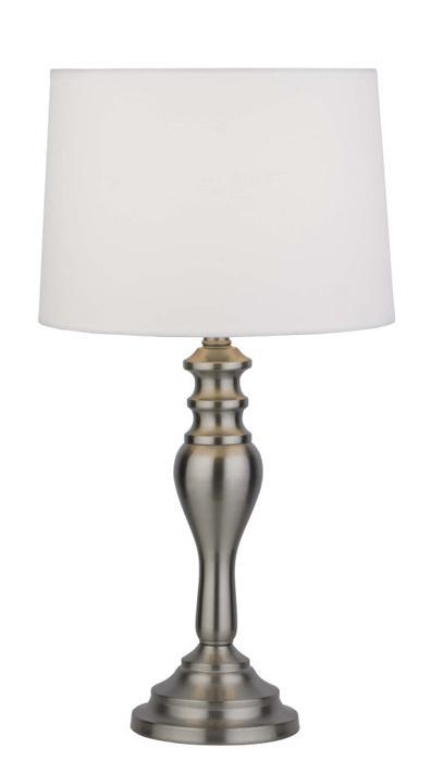 цена на Настольный светильник Markslojd 105210, серебристый