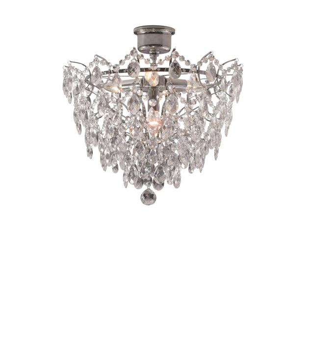 Потолочный светильник Markslojd 100511, серый металлик цена