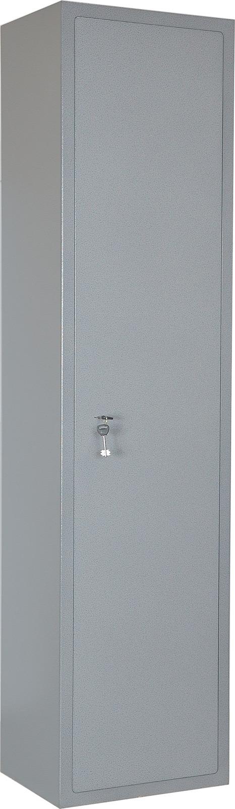 Шкаф офисный Меткон ШМ-180, серый, 180 х 44 х 36,5 см