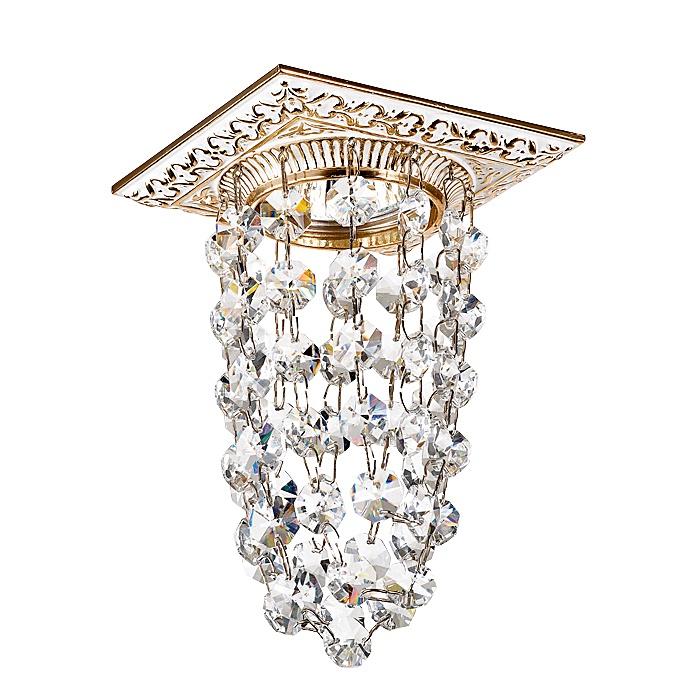 Встраиваемый светильник Novotech 369994, золотой novotech 369994