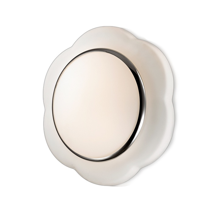 Настенно-потолочный светильник Odeon Light 2403/2C, серый металлик настенно потолочный светильник odeon light 3628 1w серый металлик