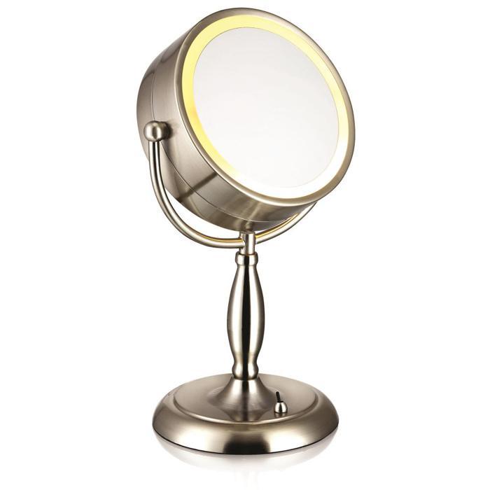 Настольный светильник Markslojd 105237, серебристый цены