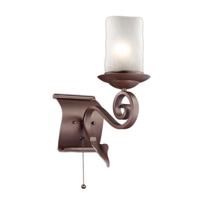 Бра Odeon Light 2438/1W, коричневый бра odeon light 2690 1w коричневый