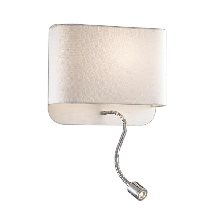 Настенный светильник Odeon Light 2588/2W, серый металлик резистор kiwame 2w 15 0 kohm