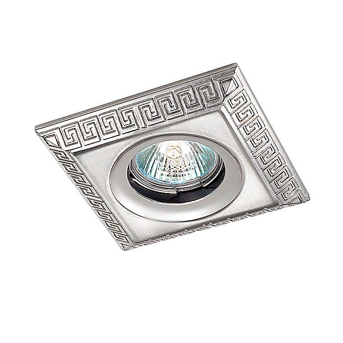 Встраиваемый светильник Novotech 369563, серебристый369563Встраиваемый светильник с одной лампой Novotech 369563 серии Nemo в классическом стиле хорошо впишется в любой интерьер.