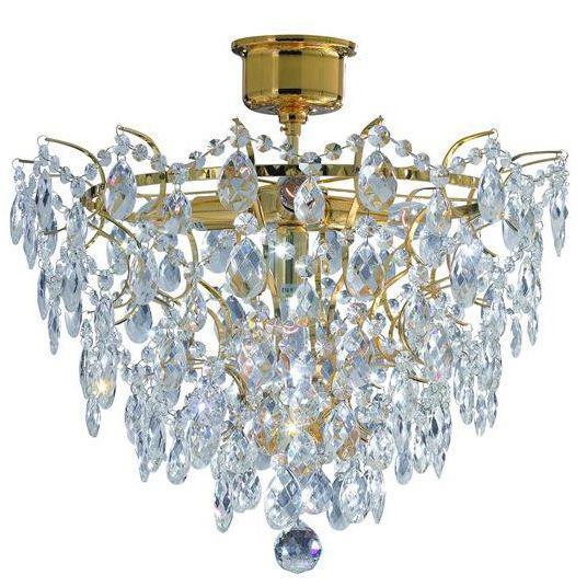 Потолочный светильник Markslojd 100510, золотой цена