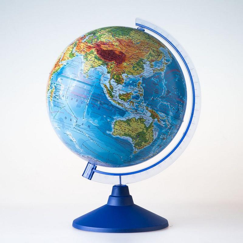 Глобус Globen Земли физический, диаметр 210 мм все цены