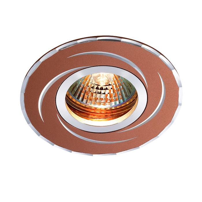 цена на Встраиваемый светильник Novotech 369770, коричневый