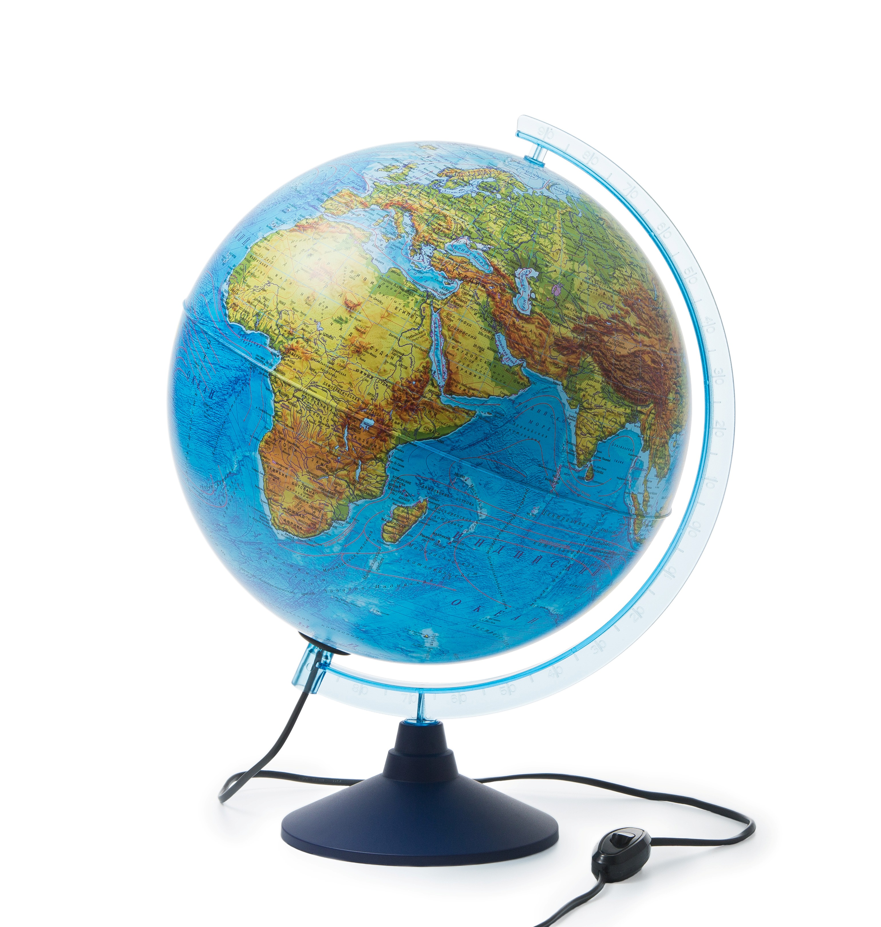 Глобус Globen физико-политический Классик Евро с подсветкой, диаметр 32 см цена 2017