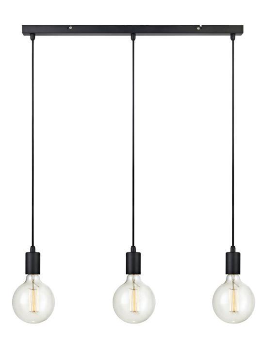 Подвесной светильник Markslojd 106336, черный106336Подвесной светильник Markslojd 106336 серии Sky в стиле лофт освежит ваш интерьер. Размеры (ДхШхВ) 40х680х1600 мм.