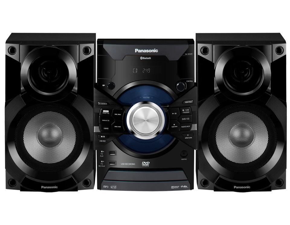 Музыкальный центр Panasonic SC-VKX25EE-K, черный цены