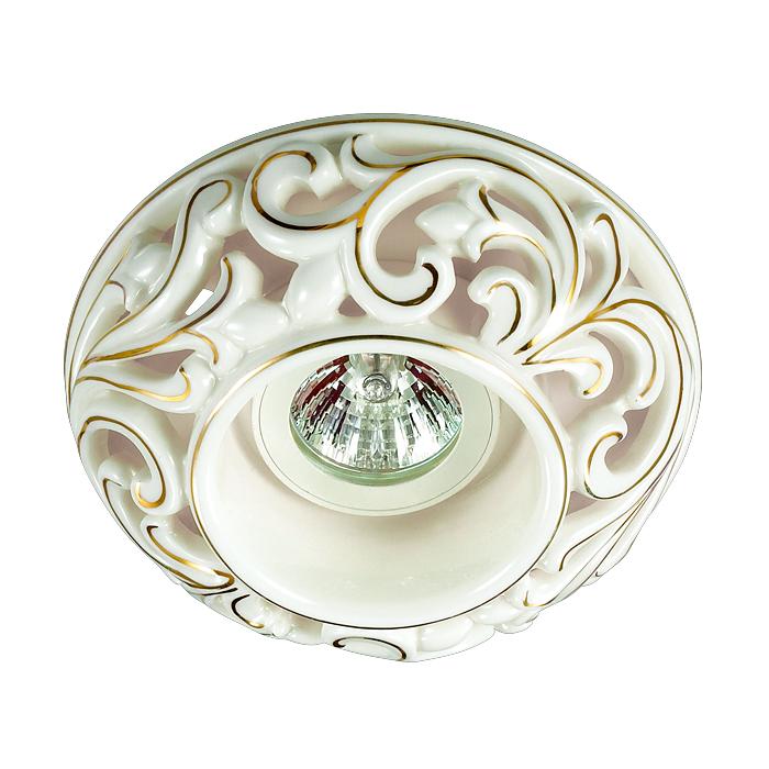 Встраиваемый светильник Novotech 370195, белый novotech 370195