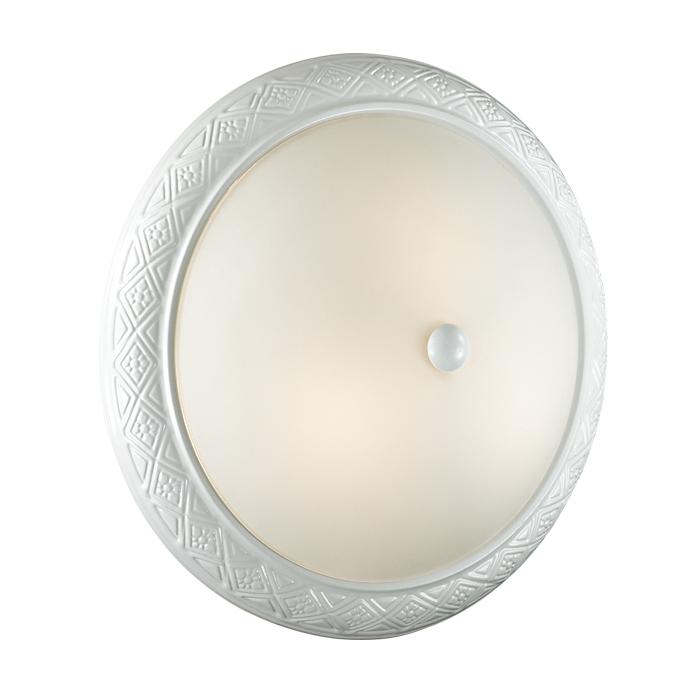 Настенно-потолочный светильник Sonex 3306, белый3306Тарелка Sonex 3306 серии Colt в классическом стиле хорошо впишется в любой интерьер. Размеры (Диаметр х Высота) 380х130 мм.