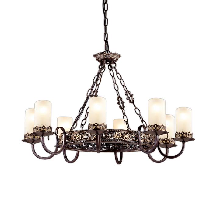 Подвесной светильник Odeon Light 2690/8, коричневый подвесная люстра odeon light mela 2690 3