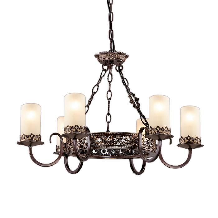 Подвесной светильник Odeon Light 2690/6, коричневый подвесная люстра odeon light mela 2690 3