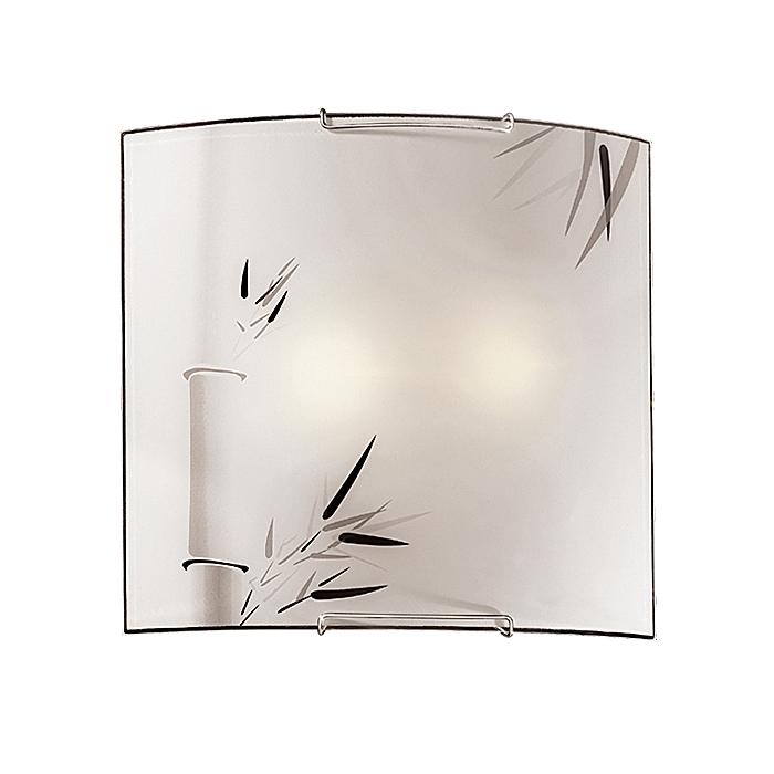 Настенно-потолочный светильник Sonex 2160, серый металлик