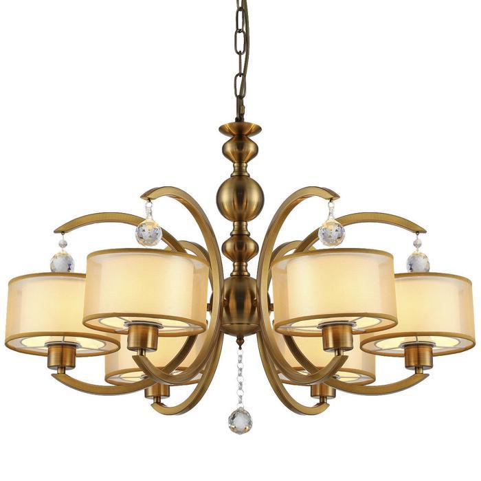 цена на Подвесной светильник Vele Luce VL1634L06, золотой