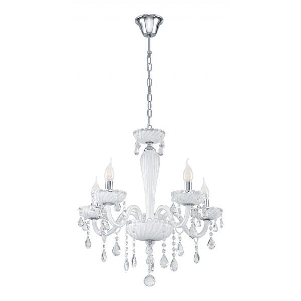 Подвесной светильник Eglo 39113, серый металлик подвесная люстра carpento 39114