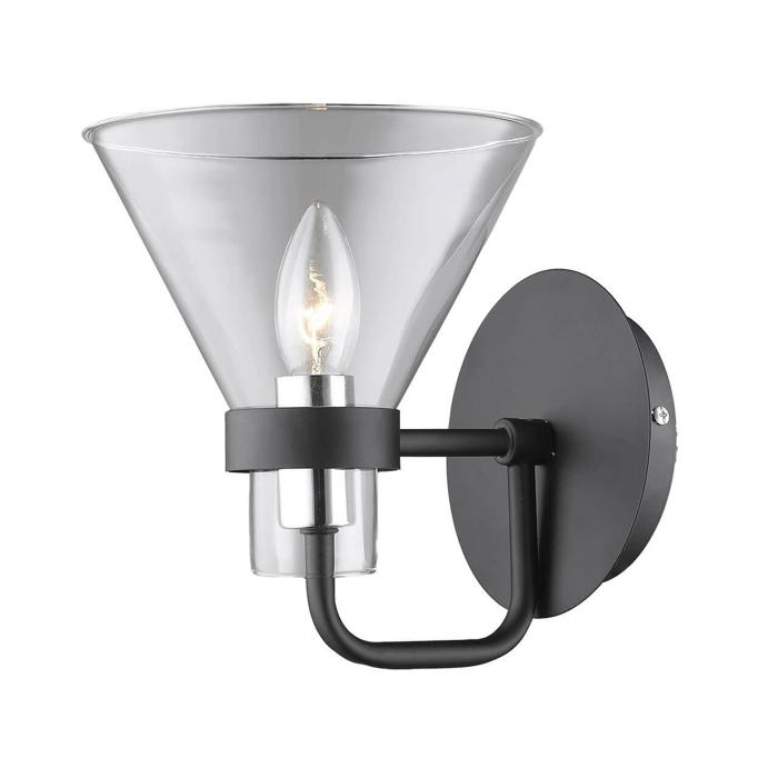 Бра Vele Luce VL1732W01, черный бра vele luce center vl1212w02