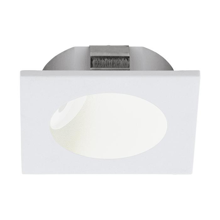 Настенно-потолочный светильник Eglo 96901, белый96901Спот с одним плафоном Eglo 96901 серии Zarate в стиле хай-тек освежит ваш интерьер. Размеры (ДхШхВ) 80х0х80 мм.