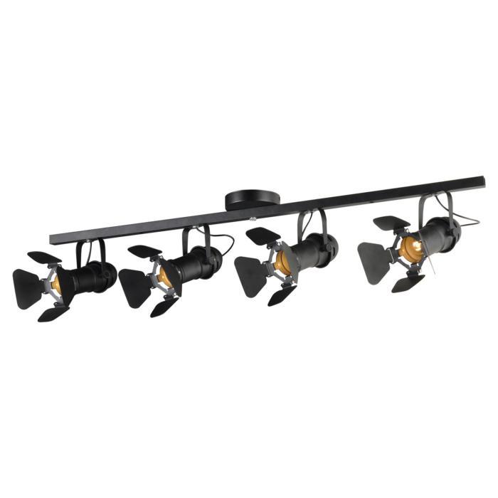 Настенный светильник Lussole LSP-8076, черный настенный светильник loft it loft1344w
