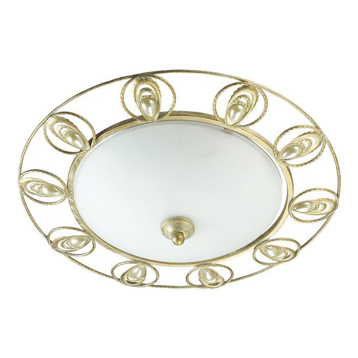 Настенно-потолочный светильник Odeon Light 3483/2C, золотой