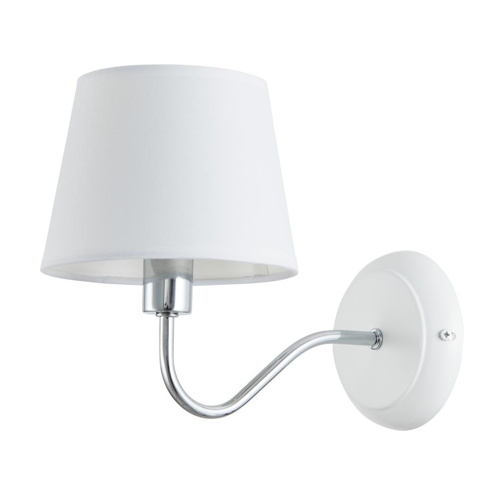 Бра Arte Lamp A1528AP-1WH, E14, 40 Вт