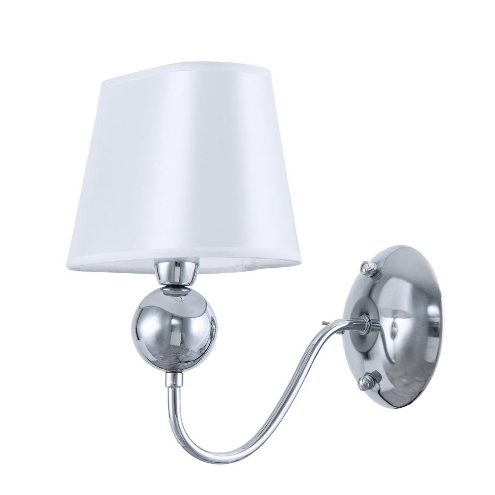 Бра Arte Lamp A4012AP-1CC, серый металлик бра arte lamp turandot a4011ap 1cc