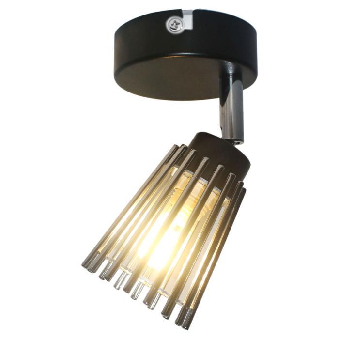 Настенно-потолочный светильник Lussole LSP-9900, черный