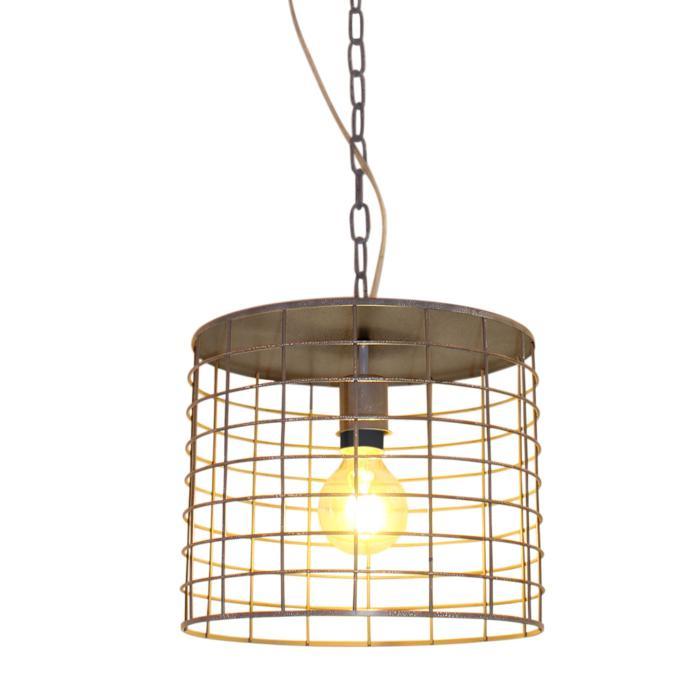 Подвесной светильник Lussole LSP-9971, серый цена