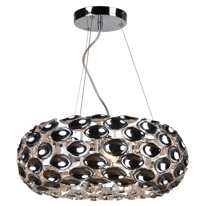 Подвесной светильник Lussole LSP-0170, серый металлик цена