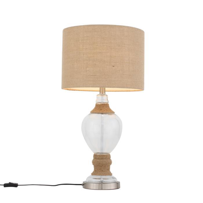 Настольный светильник St Luce SL971.514.01, коричневый лампа настольная декоративная st luce sl991 474 01 коричневый бежевый