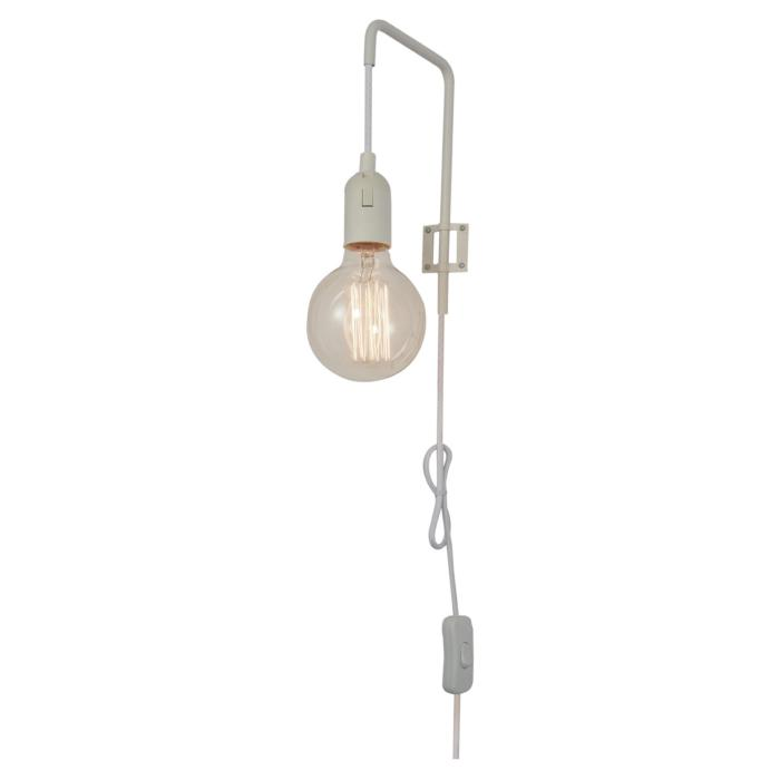 Настенный светильник Lussole LSP-8041, белый бра lsp 8041