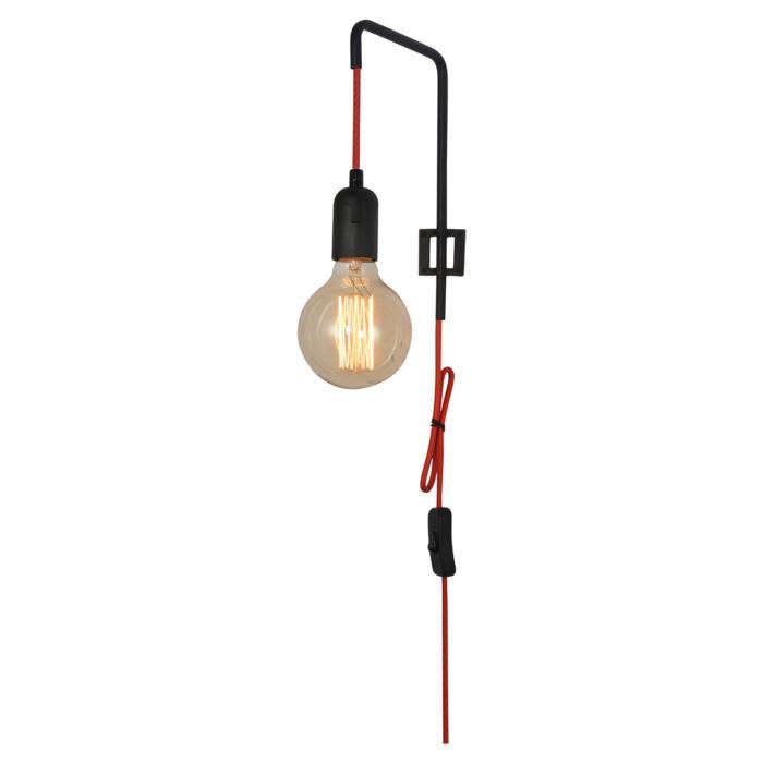 Настенный светильник Lussole LSP-8042, черный настенный светильник loft it loft1344w