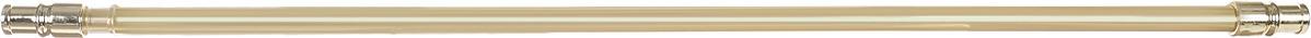 Карниз однорядный Эскар Калифорния, телескопический, цвет: латунь, диаметр 12 мм, длина 55-85 см