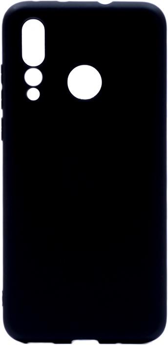 Чехол для сотового телефона GOSSO CASES для Huawei Nova 4 Soft Touch black, черный
